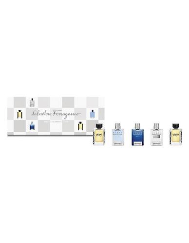 Salvatore Ferragamo Mens Holiday Miniatures Five-Piece Set-NO COLOUR-One Size