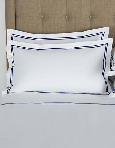 Frette Hotel Classic Egyptian Cotton Pillowcases-NAVY-King
