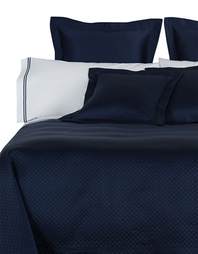 Frette Hotel Melody Fashion Euro Sham-NAVY-European