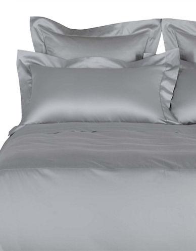 Frette Ajour Cotton Duvet Cover-GREY-King