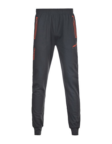 Kappa Slim-Fit Drawstring Cuffed Training Pants-DARK GREY-Medium 88457559_DARK GREY_Medium