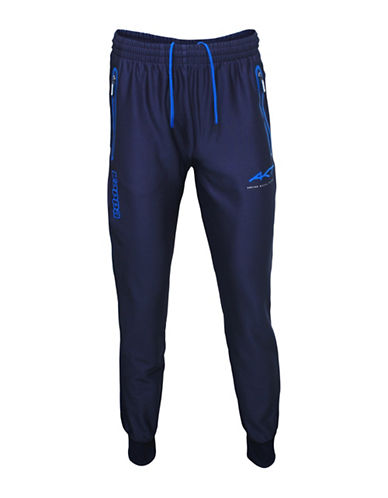 Kappa Slim-Fit Drawstring Cuffed Training Pants-BLUE MARINE-X-Large 88457569_BLUE MARINE_X-Large