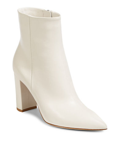 Gianvito Rossi Classic Leather Boots-OFF WHITE-EUR 38/US 8