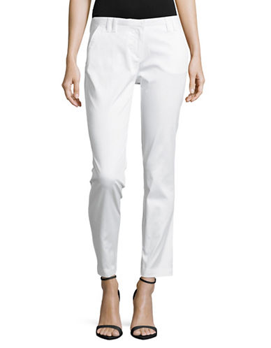 Eleventy Slim Chino Pants-WHITE-29