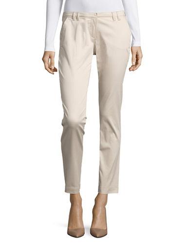 Eleventy Slim Chino Pants-SAND-28