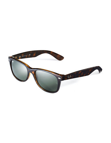 Ray-Ban Shallow Wayfarer-TORTOISE SHELL-One Size