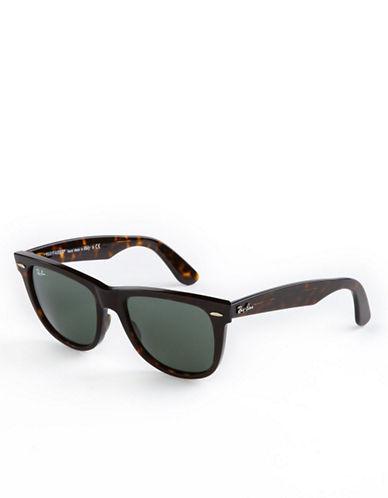 Ray-Ban Ice Pop Sunglasses-TORTOISE/DARK GREEN-One Size