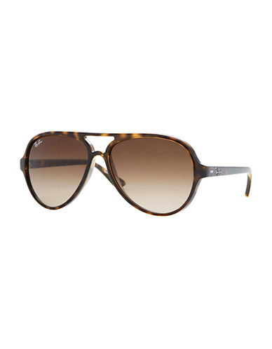 Ray-Ban Cats 5000 Sunglasses-LIGHT HAVANA-One Size