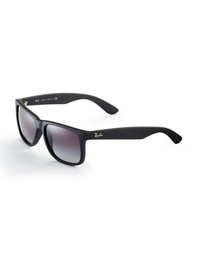 Ray-Ban Justin Sunglasses-RUBBER BLACK-One Size