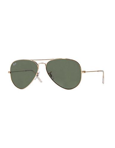 Ray-Ban Aviator Sunglasses-CHARCOAL-One Size