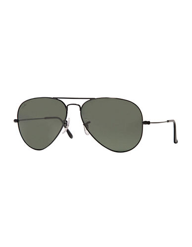 Ray-Ban Aviator Sunglasses-BLACK-One Size