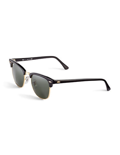 Ray-Ban Clubmaster Classic Sunglasses-BLACK-One Size