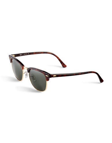 Ray-Ban Clubmaster Classic Sunglasses-TORTOISE-One Size