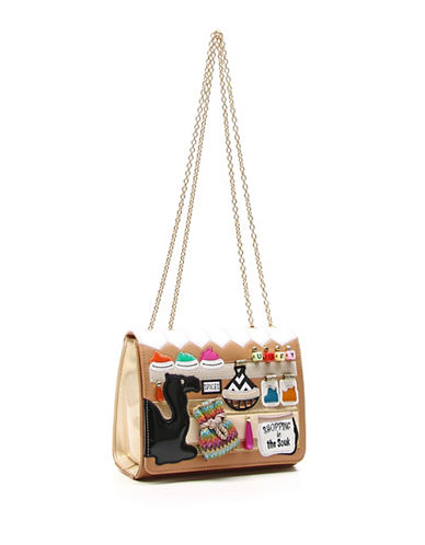 Tua By Braccialini Souk in the Souk Cartoline Shoulder Bag-MULTI-One Size