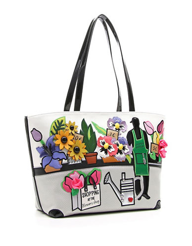 Tua By Braccialini Shopping at Flower Shop Tote-MULTI-One Size