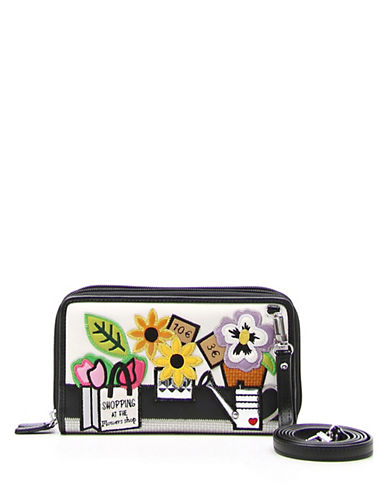 Tua By Braccialini Shopping At Flower Shop Convertible Wallet-MULTI-One Size