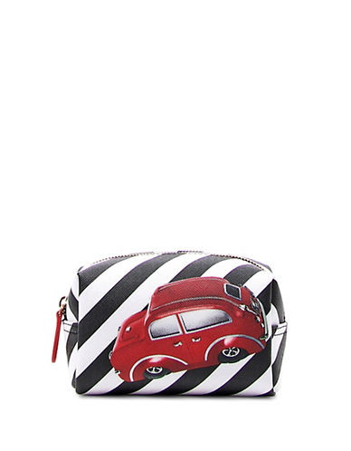 Braccialini New Lady B Iconic Printed Make-Up Case-RED-One Size