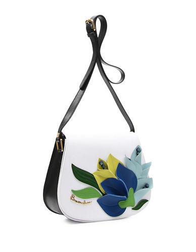 Braccialini Marcella Saffiano Leather Crossbody Bag-MULTI-One Size