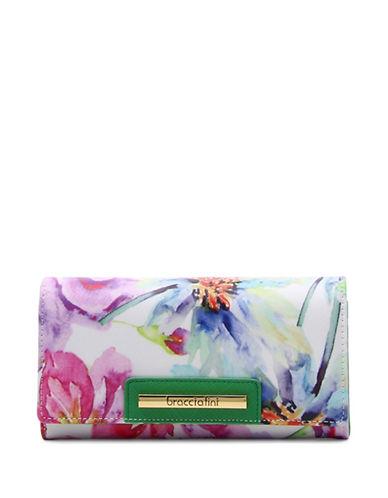 Braccialini Cristina Continental Wallet-WHITE-One Size