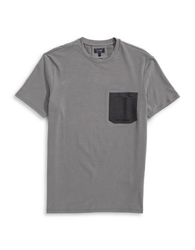 Armani Jeans Stretch Jersey T-Shirt-GREY-XX-Large 88458013_GREY_XX-Large