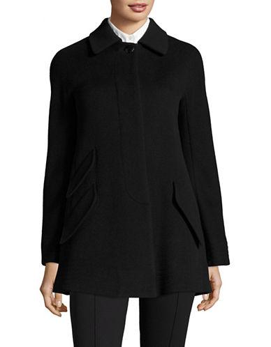 Armani Collezioni Wool-Cashmere Coat-BLACK-EUR 44/US 8
