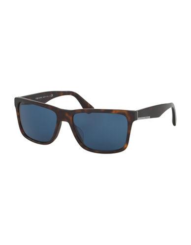7d19835f2632d ... EAN 8053672573688 product image for Prada 0PR 19SS 59MM Wayfarer  Sunglasses-MATTE HAVANA-One ...