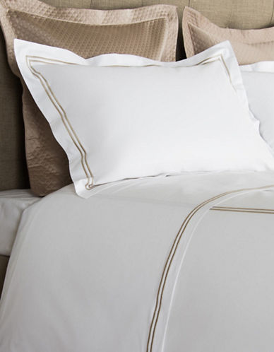 Frette Hotel Classic Egyptian Cotton Pillowcases-KHAKI-Standard