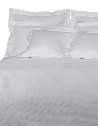 Frette Melody Coverlet-WHITE-Queen