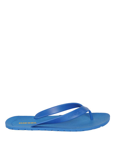 Diesel Splish Flip-Flop-BLUE-EU 46/US 13