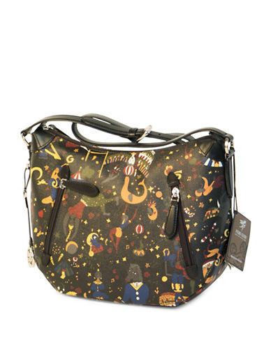 Piero Guidi Magic Circus Crossbody Bag-BLACK-One Size