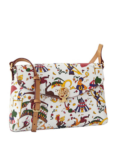 Piero Guidi Magic Circus Shoulder Bag-WHITE-One Size
