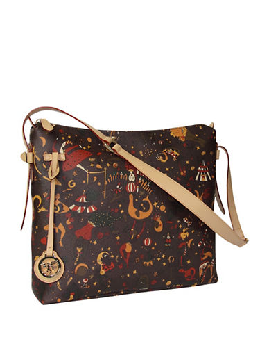 Piero Guidi Magic Circus Satchel-BROWN-One Size