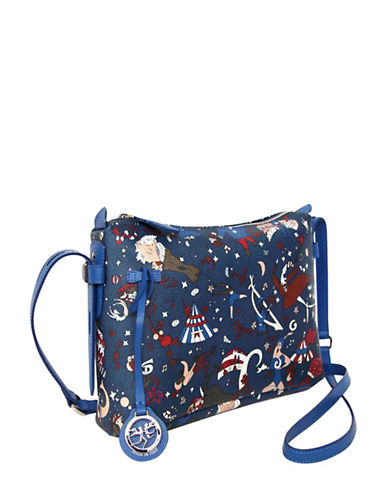 Piero Guidi Magic Circus Satchel-BLUE-One Size
