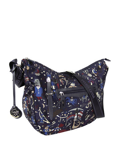 Piero Guidi Magic Circus Crossbody Bag-BLUE-One Size