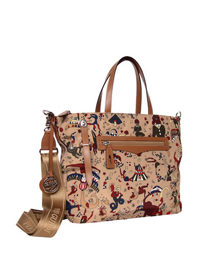 Piero Guidi Magic Circus Tote-BEIGE-One Size
