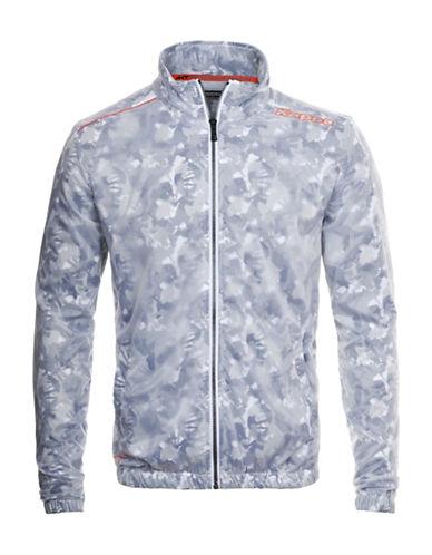Kappa Water Repellant Camouflage Zip Jacket-WHITE CAMO-X-Large 88457629_WHITE CAMO_X-Large