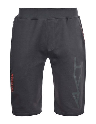 Kappa French Terry Pocket Shorts-DARK GREY-Small 88457606_DARK GREY_Small