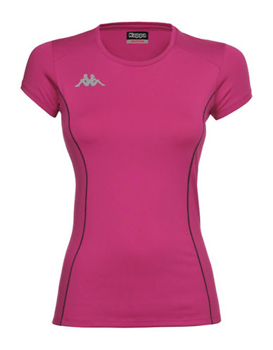 Kappa 4Training Active Jersey Training Shirt-PINK-X-Small