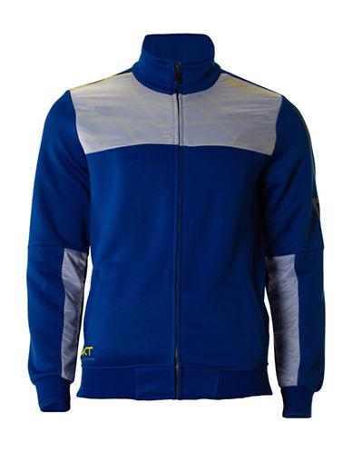 Kappa Interlock Contrast Yoke Jacket-BLUE ROYAL-Medium
