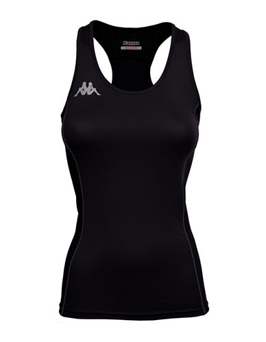 Kappa 4Training Kombat Vibat Active Jersey Tank-BLACK-Medium 88290824_BLACK_Medium