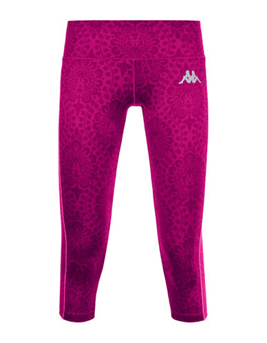 Kappa Kombat Viffin Sublimatic Print Athletic Pants-PINK-Medium