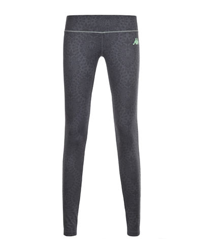 Kappa Kombat Viblem Sublimatic Print Athletic Pants-GREY-Small 88290915_GREY_Small