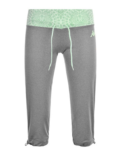 Kappa Vifton Sport Athletic Pants-GREY-X-Large