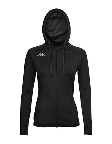 Kappa Kombat Vierp Training Fleece Jacket-BLACK-Medium