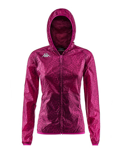 Kappa Kombat Vierp Training Fleece Jacket-PINK-X-Large