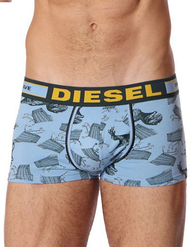 Diesel Hero Boxer Shorts-BLUE-X-Large