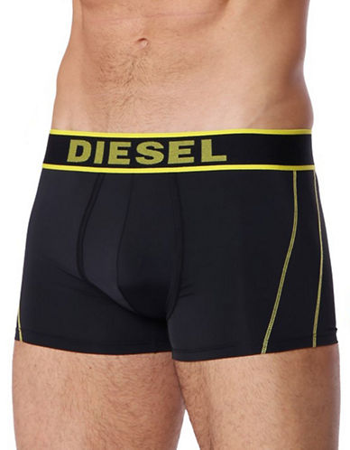 Diesel Logo Boxer Shorts-BLACK-Large