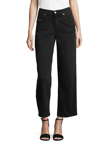 Diesel Widee High-Waist Jeans-BLACK DENIM-25X30