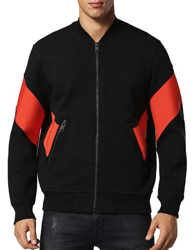 Diesel S-Mello Regular-Fit Jacket-BLACK-Medium