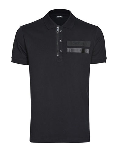 Diesel T-Snow Polo-BLACK-Medium